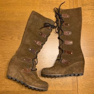 Sorel Cate The Great Tall Wedge Boots